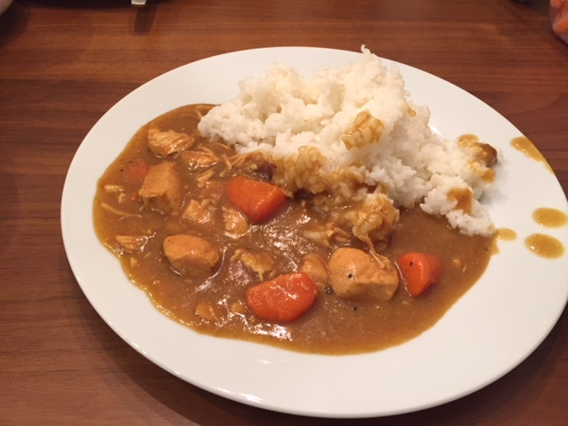チキンカレー cooked by Kota Yasuno